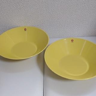 イッタラ(iittala)の新品 イッタラ ティーマ イエロー 21cm ボウル 2枚セット(食器)