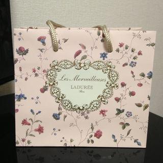 レメルヴェイユーズラデュレ(Les Merveilleuses LADUREE)のLADUREE ラデュレ 紙袋 ショッパー(ショップ袋)