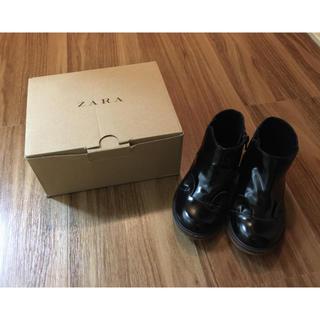 ザラ(ZARA)のZARA ベビー 猫ブーツ(ブーツ)