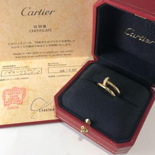 カルティエ(Cartier)の素敵❣️カルティエ ジュスト アン クル リング(リング(指輪))