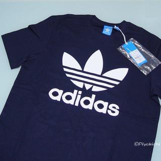 アディダス(adidas)のS【新品/即日発送OK】adidas オリジナルス デカロゴ Tシャツ 紺(Tシャツ/カットソー(半袖/袖なし))