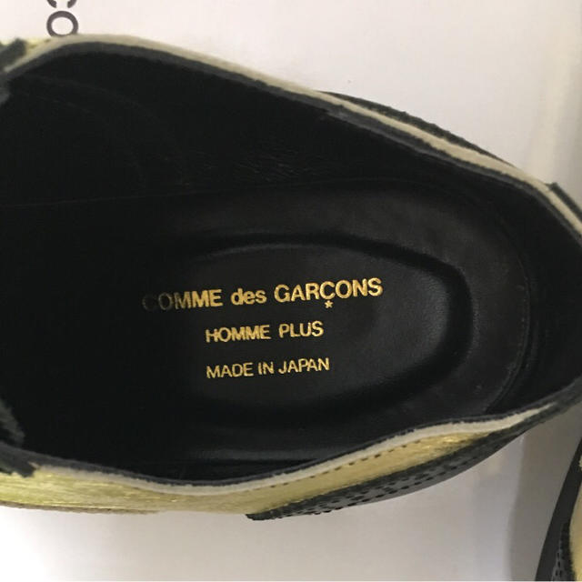 COMME des GARCONS HOMME PLUS(コムデギャルソンオムプリュス)の【わらやま様 専用】コムデギャルソンオムプリュス 革靴/ゴールド メンズの靴/シューズ(ドレス/ビジネス)の商品写真