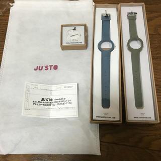 ジュスト(JU'STO)のJU'STO 腕時計 防水(腕時計)