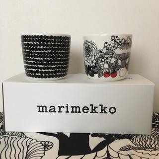 マリメッコ(marimekko)のmarimekko マリメッコ フィンランド100周年記念 ラテマグ 新品送料込(グラス/カップ)