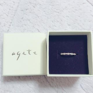 アガット(agete)の【美品!送料込み】恋愛成就💞ageteピンキーリング(リング(指輪))