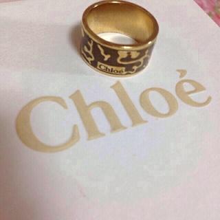 クロエ(Chloe)のchloe♡リング💍再値下げ!!(リング(指輪))