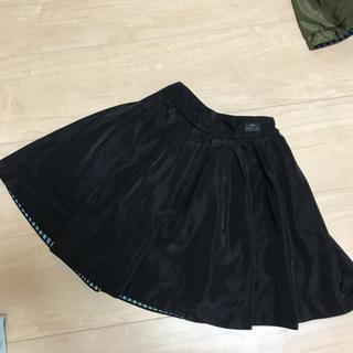 ブリーズ(BREEZE)のBREEZE ブラックスカート 100(スカート)