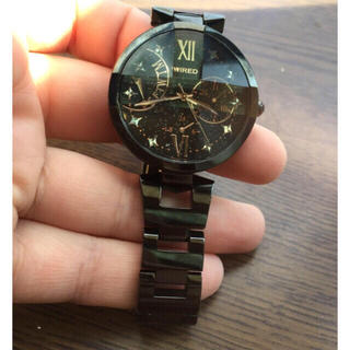 a7551a5696 ワイアード 黒 腕時計(レディース)の通販 8点   WIREDのレディースを買う ...