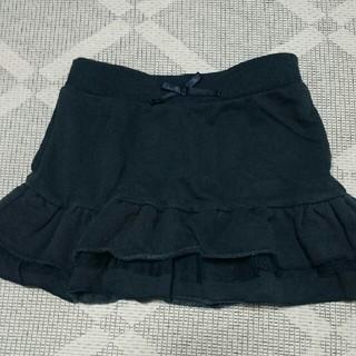 ジーユー(GU)の110㎝  GU  チュール付 スカート(スカート)