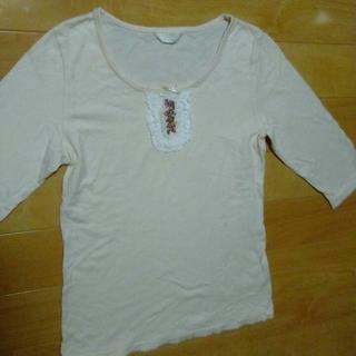 ピンクハウス(PINK HOUSE)のユキ様専用 ピンクハウス T シャツ 七分袖  オフホワイト(その他)