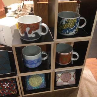 スターバックスコーヒー(Starbucks Coffee)のスタバ 九谷焼 マグカップ(グラス/カップ)