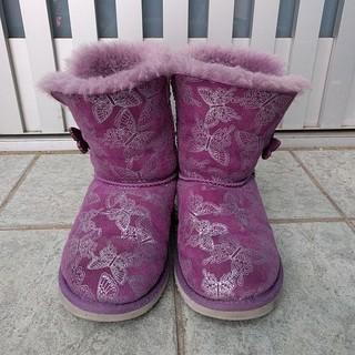 アグ(UGG)のお値下げ*18cm キッズ ブーツ ムートン ボア(ブーツ)