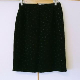 ジユウク(自由区)の【美品】大きいサイズ15号日本製GAY BLANGベルベットスカート(ひざ丈スカート)