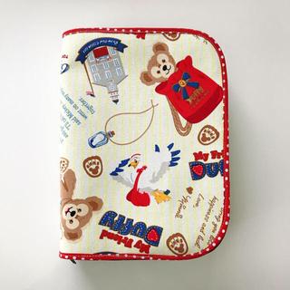 ディズニー(Disney)の母子手帳 お薬手帳 ポーチ 3児用 ダッフィー ディズニー(母子手帳ケース)