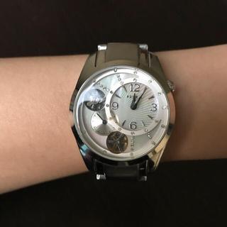 フォッシル(FOSSIL)の【中古】FOSSIL 腕時計 TWIST ME-1007 シェルホワイト(腕時計(アナログ))