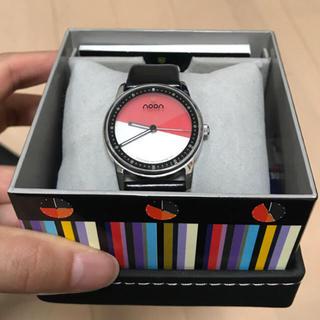 ヌーン(noon)のnoon 腕時計(箱なし)(腕時計)