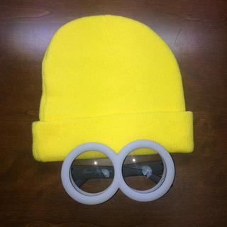 ミニオン(ミニオン)のミニオン ニット帽+ゴーグルセット(小道具)