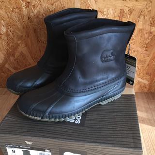 ソレル(SOREL)のソレル シャイアン プレミアム 新品 ブラック サイズ 27(ブーツ)