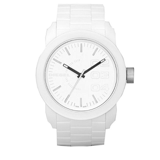 DIESEL(ディーゼル)のディーゼル(DIESEL) 腕時計 白 メンズの時計(腕時計(アナログ))の商品写真