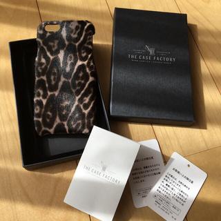 アパルトモンドゥーズィエムクラス(L'Appartement DEUXIEME CLASSE)のthe case factory iPhone6用ケース ポニー レオパード (iPhoneケース)