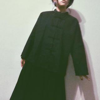 メルロー(merlot)のチャイナボタンシャツ(シャツ/ブラウス(長袖/七分))