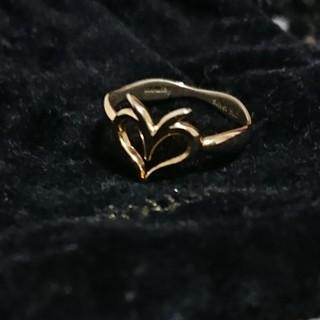 マウジー(moussy)のマウジー ピンキーリング  シルバー 925 ゴールドメッキ(リング(指輪))
