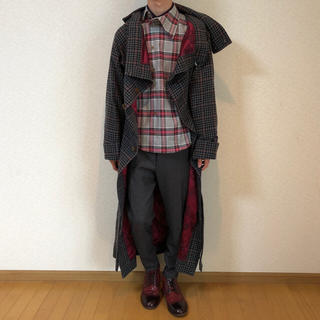 ヴィヴィアンウエストウッド(Vivienne Westwood)の【新品タグ付き・定価11万】Vivienne Westwood MAN ガウン(チェスターコート)