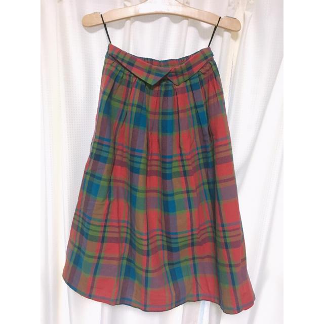 ehka sopo(エヘカソポ)のehka sopo  【チェックスカート】 レディースのスカート(ひざ丈スカート)の商品写真