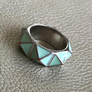 指輪 13号 パステルグリーン(リング(指輪))