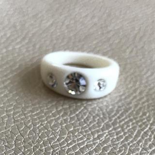 指輪 約13.5号 ホワイト ストーン(リング(指輪))