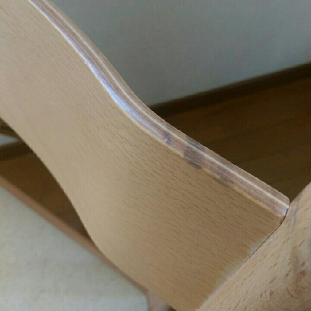 MUJI (無印良品)(ムジルシリョウヒン)の廃盤レア!【無印】折りたたみ椅子 インテリア/住まい/日用品の椅子/チェア(折り畳みイス)の商品写真