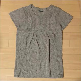 セーター 半袖(ニット/セーター)