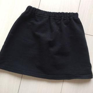ムジルシリョウヒン(MUJI (無印良品))のMUJI シンプル黒スカート/ちょこ様専用☆(スカート)