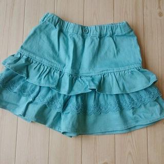 ジーユー(GU)の【130】新品⭐GU キュロットスカート(スカート)