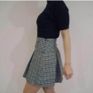 ロキエ(Lochie)の♡ vintage check skirt ♡(ミニスカート)