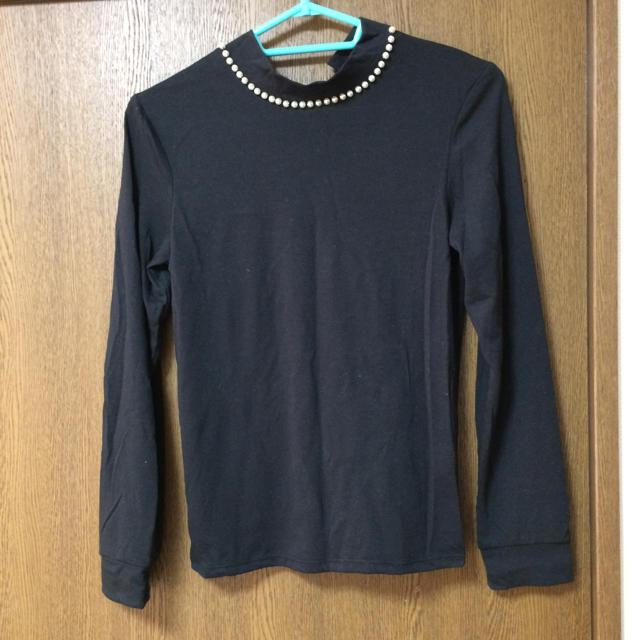 GU(ジーユー)のGU レディースのトップス(Tシャツ(長袖/七分))の商品写真