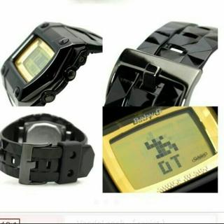 ベビージー(Baby-G)の中古 baby G 3097 ブラック×ゴールド(腕時計)