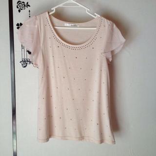 ミスティウーマン(mysty woman)のmusty womanのトップス(Tシャツ(半袖/袖なし))