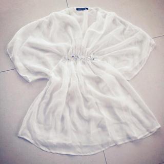 バブラス(BUVRUS)のシフォントップス、シフォンオールインワン(シャツ/ブラウス(半袖/袖なし))