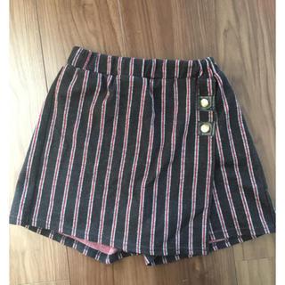 ジーユー(GU)の子供服 スカート 140cm(スカート)