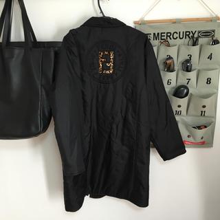 フェンディ(FENDI)のFENDI 刺繍 ロングコート ジャケット(チェスターコート)