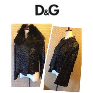 ディーアンドジー(D&G)のD&G フレアースリーブ キルティングジャケット(ブルゾン)