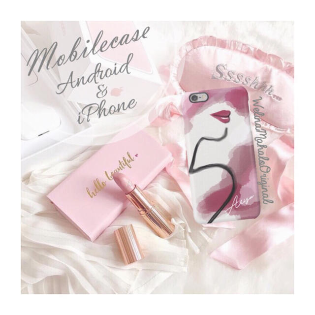 名入り♡..Me★シリーズ③スマホケース♡iPhone以外も対応機種多数あり♡の通販 by welina mahalo|ラクマ