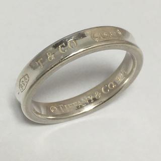 ティファニー(Tiffany & Co.)のぐっさん様ティファニー1837 ナローリング SV925 17号 メーカー洗浄済(リング(指輪))