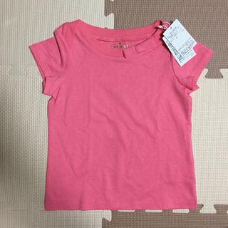 ケイトスペードニューヨーク(kate spade new york)の新品未使用 ピンク リボン Tシャツ 110(その他)