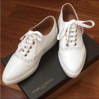 ペリーコ(PELLICO)のPELLICO★定価¥31.320★レザーレースアップシューズ(ローファー/革靴)