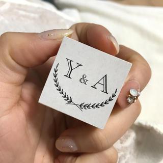 イニシャルスタンプ (Y&A)(はんこ)