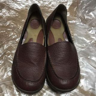 リゲッタ(Re:getA)のRe:gatA  リゲッタローファー ブラウン Lサイズ(ローファー/革靴)
