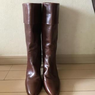 ✴︎タニノクリスチー✴︎希少 マロン色のブーツ