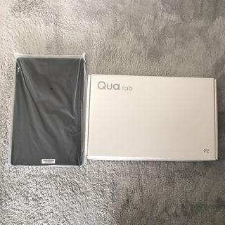 エルジーエレクトロニクス(LG Electronics)の新品 判定○ LGT32 キュアタブ Quatab PZネイビー10.1インチ(タブレット)